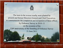 SU3715 : Plaque at Explorer House by Shazz