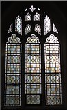 TL9925 : St. Martin's Church, West Stockwell Street, CO1 - stained glass window, north aisle by Mike Quinn