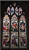 TL9925 : St. Martin's Church, West Stockwell Street, CO1 - stained glass window, south transept by Mike Quinn