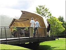 TQ2679 : Serpentine Gallery Pavilion 2014 entrance by David Hawgood