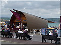 SY6878 : Weymouth: the Boat café bar by Chris Downer
