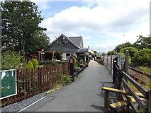 SH5639 : Welsh Highland Heritage railway station at  Porthmadog by Richard Hoare