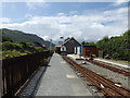 SH5639 : Welsh Highland Heritage railway station at  Porthmadog (viewed westwards) by Richard Hoare