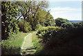 SS6745 : Lynton & Barnstaple Railway: former course by Martin Bodman