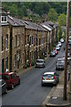 SD9927 : Unity Street from Keighley Road, Hebden Bridge by Christopher Hilton