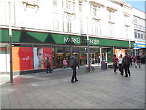 SK5804 : Marks & Spencers, Leicester by Paul Gillett