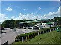 SP2664 : BP Service Station by James Allan