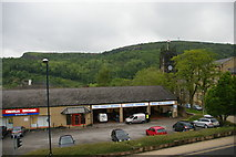 SE0925 : Halifax: looking across Charles Street from the car park of the Woolshops shopping centre by Christopher Hilton