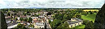 SP0202 : Panoramic view from St John's Church tower roof, Cirencester by Brian Robert Marshall