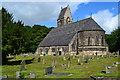 NZ2643 : St. Cuthbert's Church and churchyard by David Martin