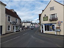 TL8422 : The centre of Coggeshall by David Smith