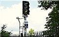 J3775 : Railway signal, Sydenham, Belfast by Albert Bridge