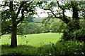 SS9104 : Classic Devon countryside from the edge of the Fursdon estate (2) by Derek Voller