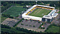 NT0466 : Almondvale Stadium from the air by Thomas Nugent