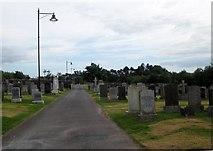 NY1281 : Lockerbie Cemetery by James Denham