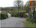 SN9804 : Low bridge 110 yards ahead, Llwydcoed by Jaggery