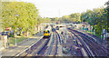 TQ2773 : Wandsworth Common Station by Ben Brooksbank