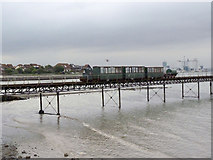 "SU4208 : ""Hythe Pier Miniture Railway"" by Alan Murray-Rust"