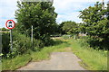 TL4663 : Roman road from Milton Road/Butt Lane junction by Rob Noble