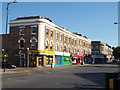 TQ3276 : Shops, east side of Denmark Hill, south of Daneville Road, Camberwell by Robin Stott