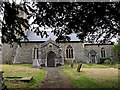 TM3761 : St.Mary's Church, Benhall by Adrian Cable