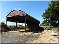 H3185 : Farm shed, Crew Upper by Kenneth  Allen