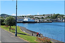 NS0964 : Rothesay Bay by Billy McCrorie