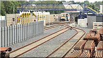 J3272 : Railway sidings, Adelaide, Belfast (July 2014) by Albert Bridge