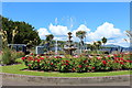 NS0864 : Fountain at Winter Gardens, Rothesay by Billy McCrorie