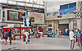 TQ3179 : Waterloo Station concourse, 1990 by Ben Brooksbank