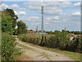 SU8279 : Telecommunication mast near Knowl hill by Alan Hunt