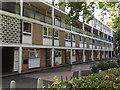 TQ3376 : Camberwell Grove, west side, flats 100-138B by Robin Stott