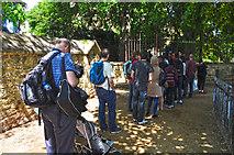 SP5105 : Oxford : Path & Gate by Lewis Clarke