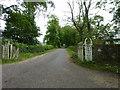 NT1098 : Driveway gates by James Allan