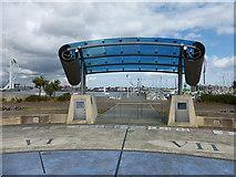 SZ6299 : Millennium Gate, Gosport by Oliver Dixon