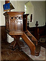 TM3377 : Pulpit of St.Margaret of Antioch Church by Adrian Cable
