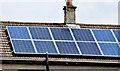 D1102 : Solar panels, Ballymena (July 2014) by Albert Bridge