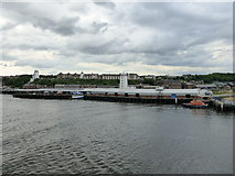NZ3668 : North Shields Fish Market, River Tyne by kim traynor