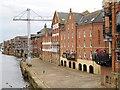 SE6051 : York, Queen's Staith by David Dixon