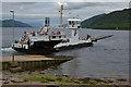 """NN0163 : The ferry """"Corran"""" at Corran by Nigel Brown"""