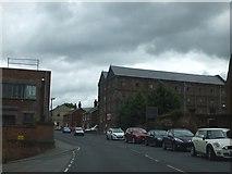 TM1131 : Former factory, High Street, Mistley by David Smith