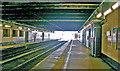 TQ1885 : Wembley Central Station: platforms in the 'basement' by Ben Brooksbank