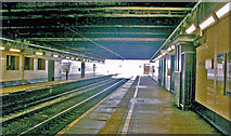 TQ1885 : Wembley Central Station: platforms in the 'basement' by Ben Brooksbank