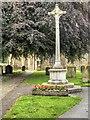 SE2280 : Masham War Memorial Cross by David Dixon
