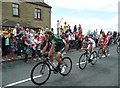 SE1019 : Tour de France, part of the leading group at Blackley by Humphrey Bolton