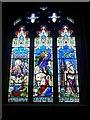 SE2280 : Memorial Window, St Mary's Church, Masham by David Dixon
