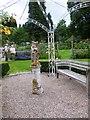 NJ6004 : A 'petrified' Eagle Owl by Stanley Howe