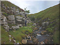 SD8695 : Wofell Scar in Fossdale Gill by Karl and Ali