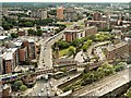 SJ8397 : Chester Road (A56), Castlefield by David Dixon