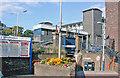 TQ0461 : West Byfleet Station, entrance by Ben Brooksbank